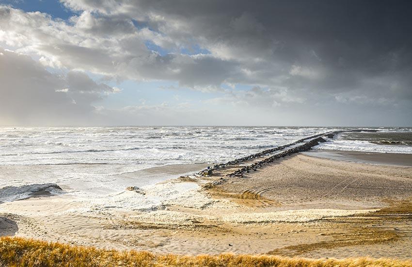 Sturmwetter in Dänemark