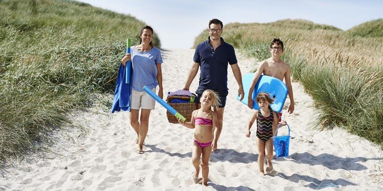 Sicher Reisen mit der Familie - Urlaub in Dänemark