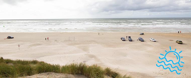 Vejers Strand in Dänemark