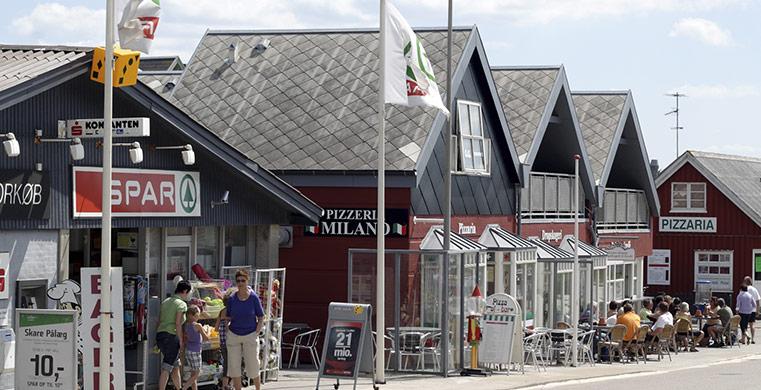 Sommerhusudlejning tæt på hyggelige og lokale butikker