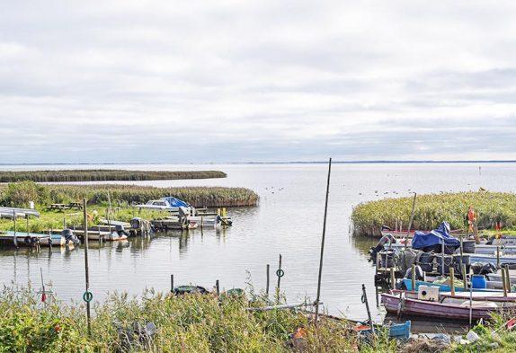 Vinterleje havn i Haurvig