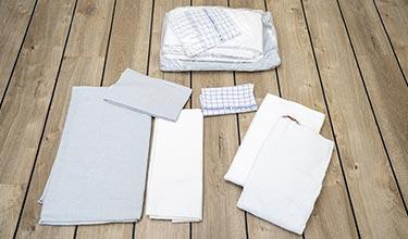 Verleihservice - Wäschepaket